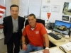 CEO ISUZU Deutschland mit Rainer Amrhein