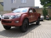 D-MAX Premium red flat metallic 1