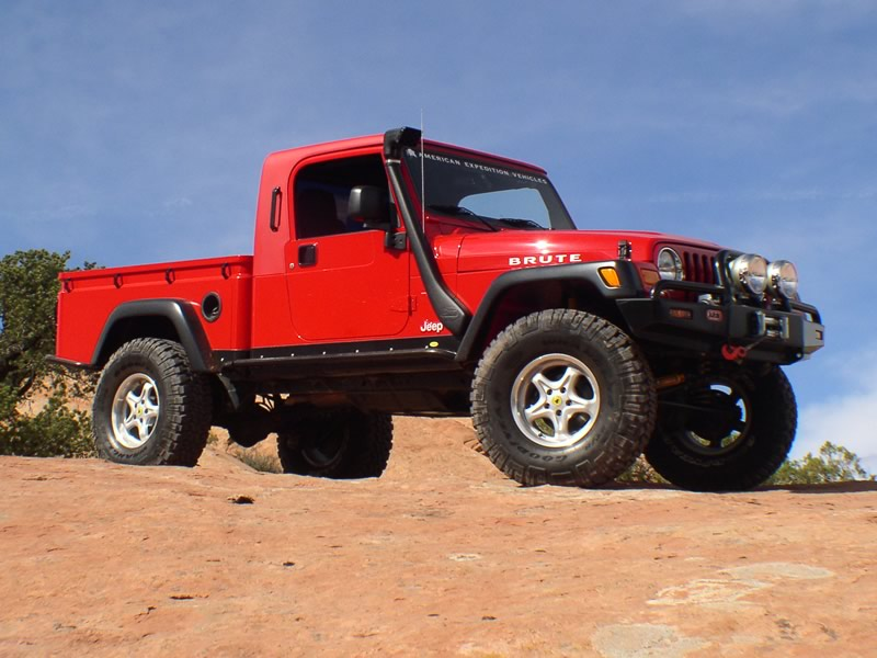 Jeep Brute red