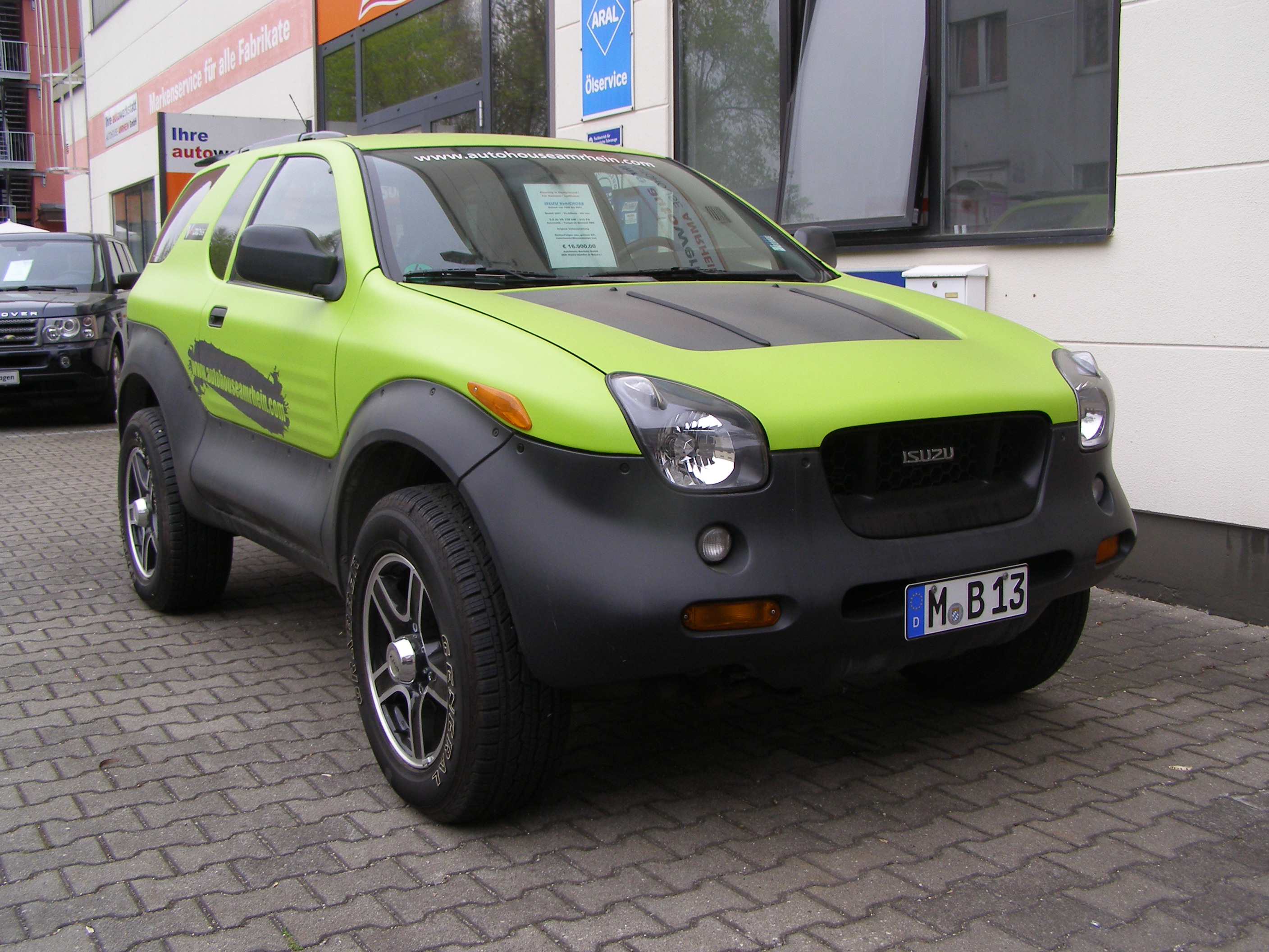 isuzu vehicross 1 autohouse amrhein gmbh. Black Bedroom Furniture Sets. Home Design Ideas