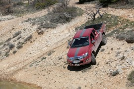 D-MAX Off-Road in der Provence 2014