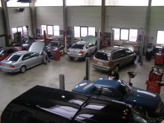 Autohouse Amrhein Servicebereich