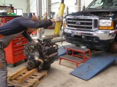Austausch Ford Powerstroke Diesel