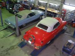 Cadillac 53 und Chevrolet Caprice 72