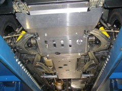 Unterfahrschutz Vorderachse/Getriebe/Zwischengetriebe