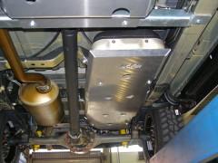 Unterfahrschutz Tank