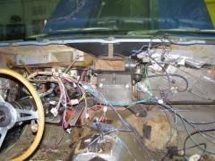 Kompletterneuerung Kabelbaum Mustang 1970