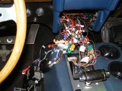 "Mustang MachI Elektrik hinter dem Armaturenbrett- Fahrzeug wurde als ""frame-off-restauriert"" verkauf"